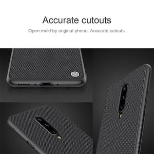 Image 4 - Voor Oneplus 7 Pro Case Oneplus 7 6T Cover Nillkin Geweven Nylon Fiber Case Dunne En Licht Terug Cover voor Een Plus 7 Pro Case