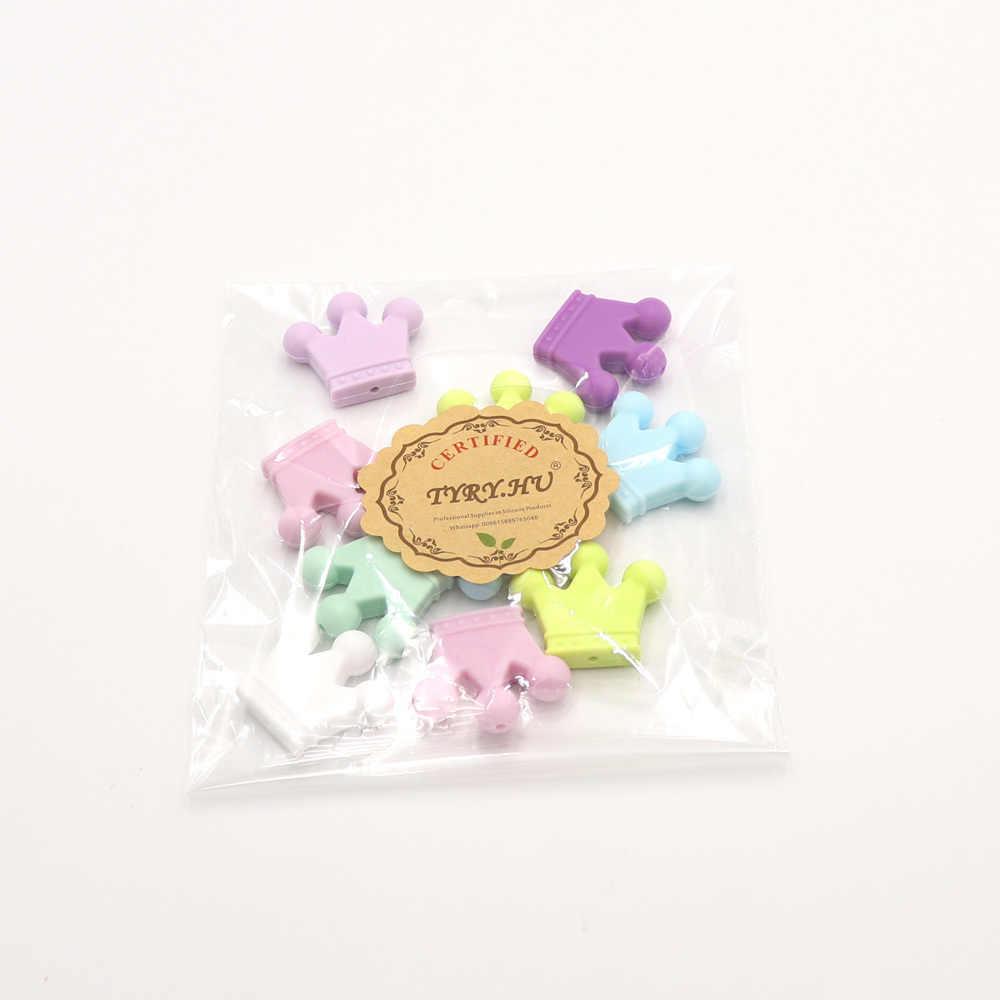 Cuentas de dentición roedor dientes juguete bebé dientes juguete collar accesorios y regalos de lactancia