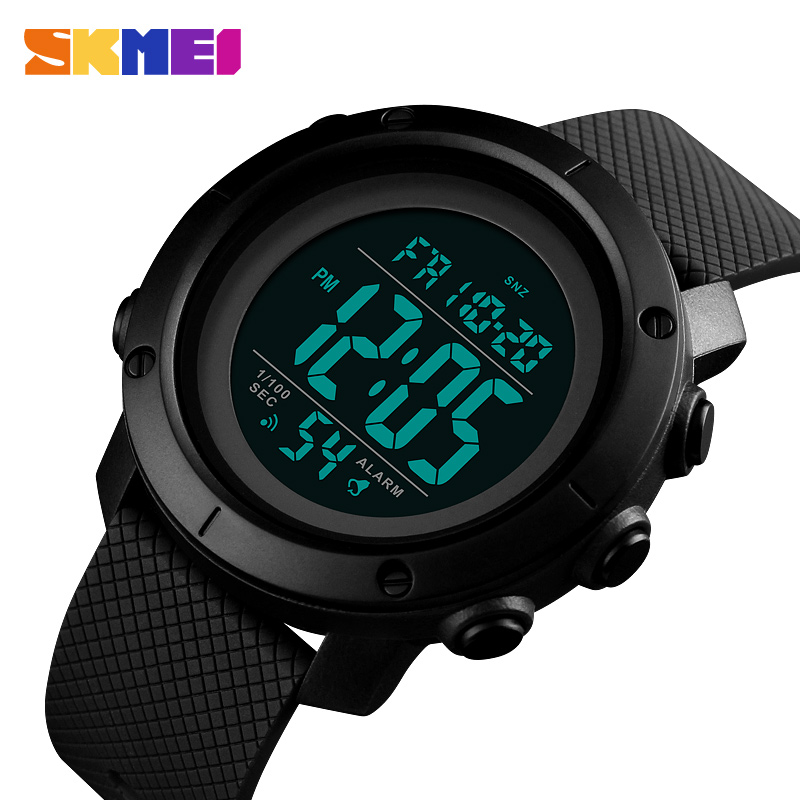SKMEI Countdowns Sports Watches Waterproof Watch Men Relogio Masculino Mens  Watches Top Brand Luxury LED Digital 397229f4f1d34