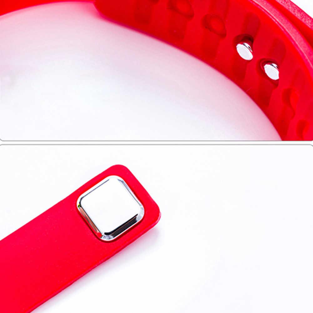 Moda digital display led esportes jelly silicone banda masculino feminino relógio de pulso atacado