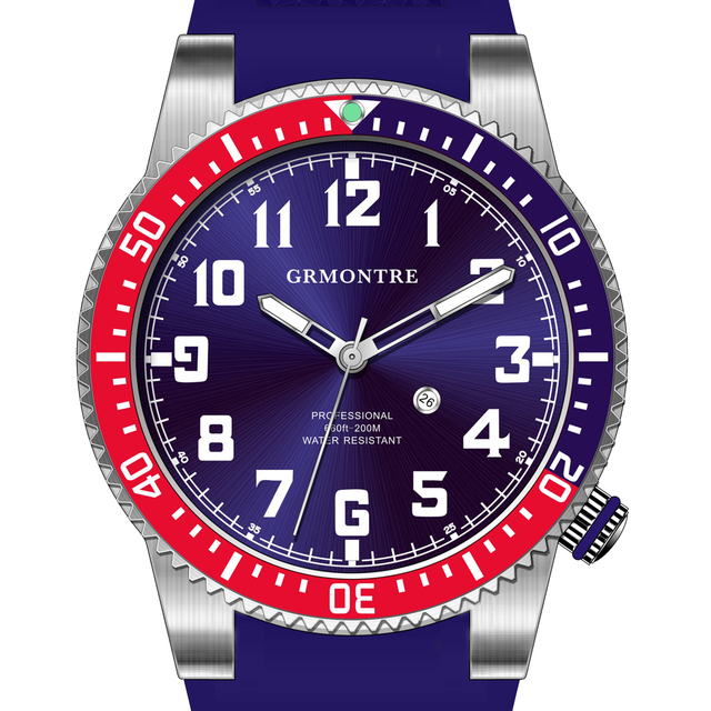 watch new to dial for professional its cool present watches diving two chronofighter pleased the oversize in diver graham is available divers timepiece