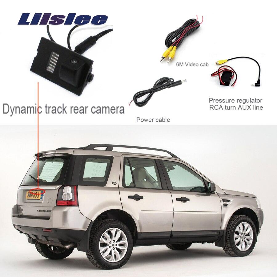 Liislee Pour Land Pour Rover Freelander 2 2006 ~ 2015 Arrière Vue Caméra Parking Par Bakcup Caméra + Grand Angle + de haute qualité