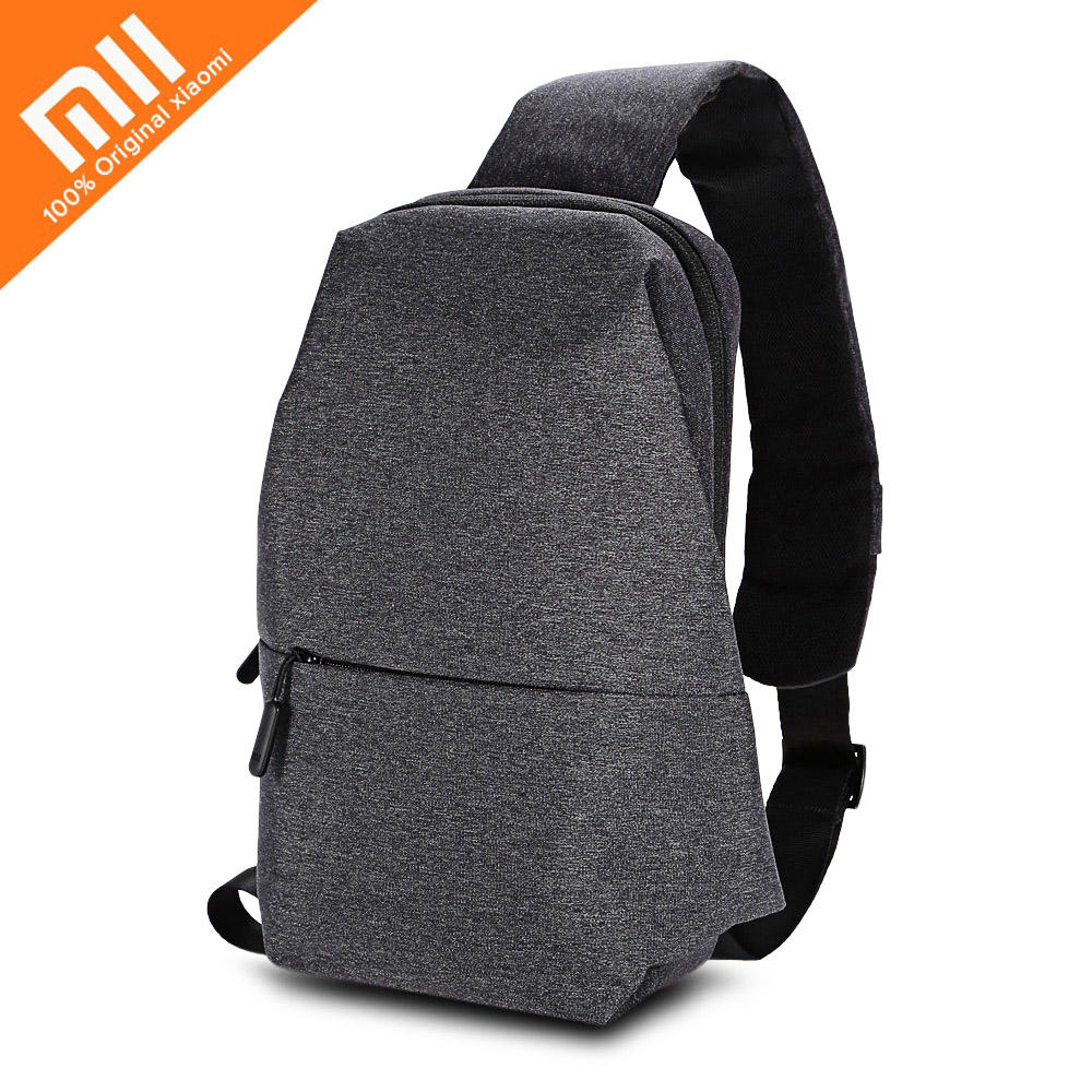 Authentic Xiaomi Backpack 4L Polyester Bag Urban Leisure Sports Chest Pack Bags Men Women Small Size Shoulder Unisex Rucksack