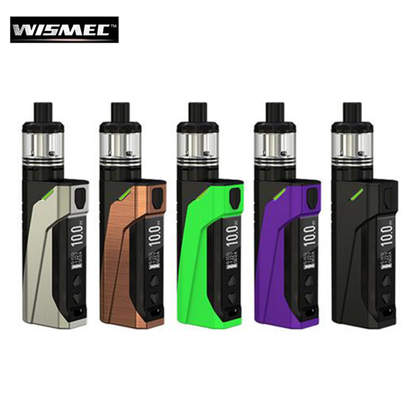 Original Wismec CB-60 Kit 60W E Cigarette Box MOD CB-60 2300mAh Battery Vape with 2ml Amor NS Tank MTL Atomizer базы catrice volumizing ridge filler объем 10 мл