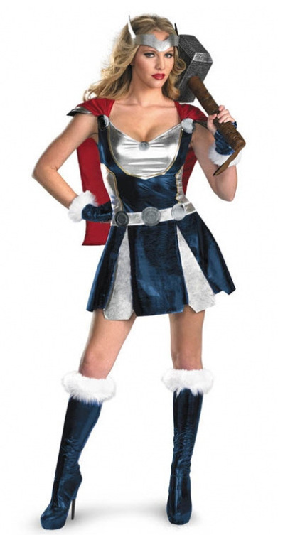 Thor Avengers Superhero Comics Cosplay For Superwoman Jane Costume Halloween Carnival Party Fancy Dress image