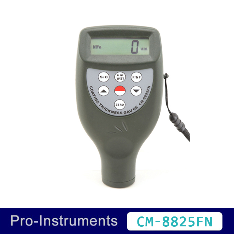 Landtek CM-8825FN 2 in 1 Portatile Da tasca Auto Vernice di Spessore Tester 50mil 1250um Vernice Calibro di Spessore del Tester del tester OD