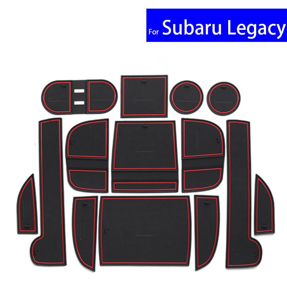 medium resolution of non slip car door gate slot mats carpets position cup holder pads for subaru legacy 2016 door groove mat free shipping on aliexpress com alibaba group