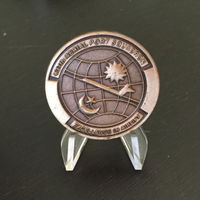Low Price custom metal coins Wholesale Aerial Port Squadron Challenge Coin new military coins medal hl50252