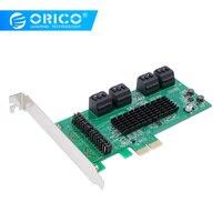 ORICO 4/8 Port SATA3.0 PCI E Expansion Card PCI E X1 to SATA3.0 Ports NCQ Protocol 6Gbps For Windows /Linux2.6.x