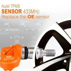Image 5 - 100% Original AUTEL TPMS Sensor 433 315 Mhz MX Sensor reifen druck sensor Reifen Überwachung TPMS auto OE ebene Programmierbare Sensor