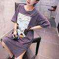 Mujeres Maternidad Tops Vestido de Maternidad Camisetas Para Mujeres Embarazadas Suelta de manga corta T-shirt Ropa de Vestir ropa De maternidad