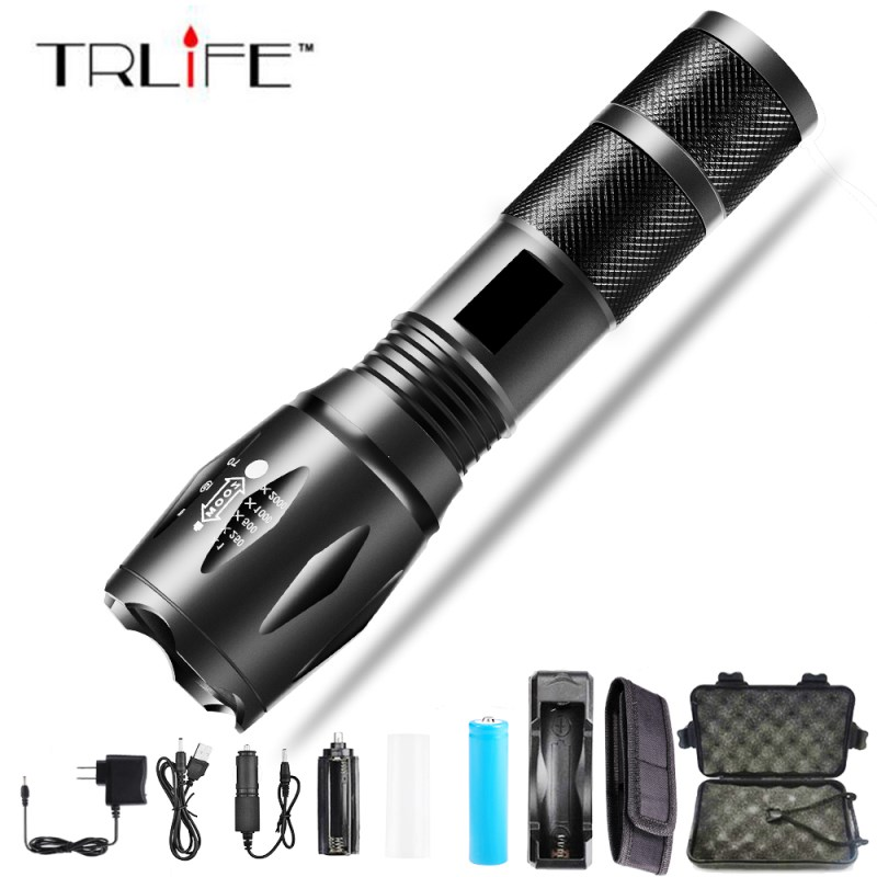 10000 Lums XPL-V6 L2 LED Tactical Flashlight Torch Zoomable linterna LED Flashlight Waterproof Torch For AAA 18650 Rechargeable10000 Lums XPL-V6 L2 LED Tactical Flashlight Torch Zoomable linterna LED Flashlight Waterproof Torch For AAA 18650 Rechargeable