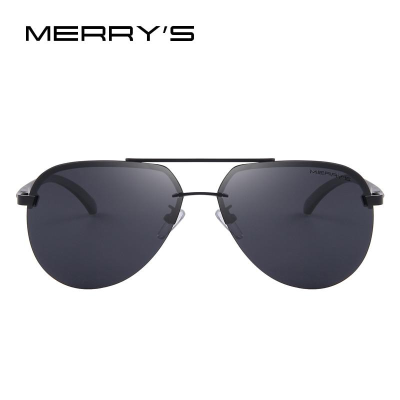 MERRYS Märke Män 100% Polariserad Aluminium Alloy Frame - Kläder tillbehör - Foto 2