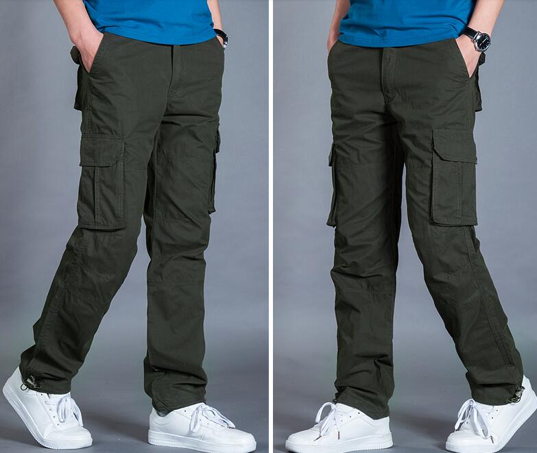 Bolsa Ocio 2019 Negro Nuevos Primavera Vender xxxl Pantalones otoño Hombres Como verde Pan De Militar caqui m Flojo Caliente zvqg1xZ