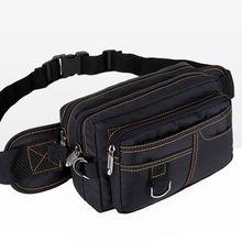 Unisex Phone Pouch Cycling Waist Fanny Pack Belt Chest Bags Travel Hip Purse Sports Shoulder Bag