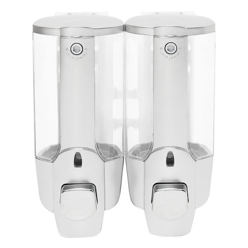 Single Pump Wall Mounted Soap Shampoo Dispenser Shower Helper For Bathroom Kitchen Bedroom Hospital Hotel Suppiles Diy Sy2