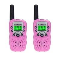 woki טוקי baofeng 2 יח Baofeng BF-T3 מכשיר הקשר מיני נייד ילדים צעצוע שני הדרך רדיו UHF 462-467MHz 8 ערוץ כף יד Woki טוקי (1)
