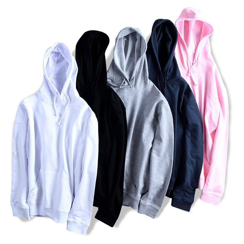 MFERLIER Autumn Spring Men Hoodies 5XL 6XL 7XL 8XL Large Size Bust 134cm Loose Plus Size Hoodie Men 6 Colors