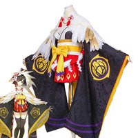 Cosplay Mobile Game Onmyoji new hellspawn Itsumade Japanese style Cos Clothes