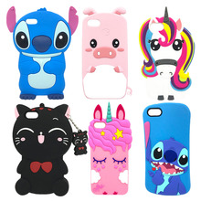 Silicone Case For Huawei Y5 2018 Cute Cartoon Unicorn Stitch Cat Soft Back Cover Coque Y 5 Prime Phone