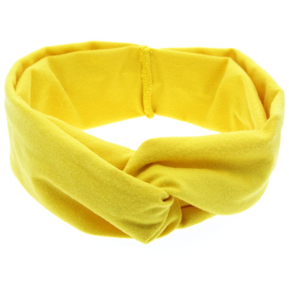 TWDVS pasgeboren knoop elastische ring hoofdband kinderen katoenen - Kledingaccessoires - Foto 4