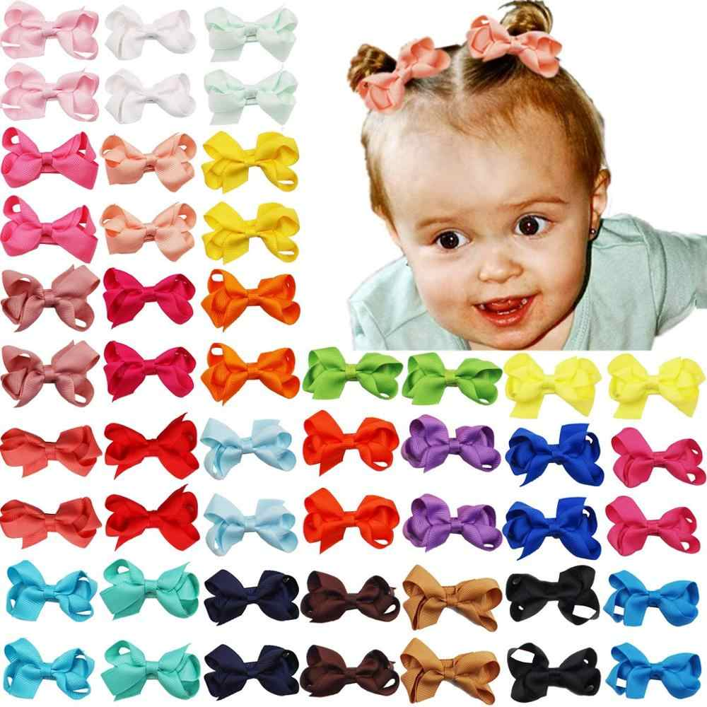 Girls Baby Toddler Kid Hair Bow Hairpin Alligator Princess Ribbon Clip Grosgrain