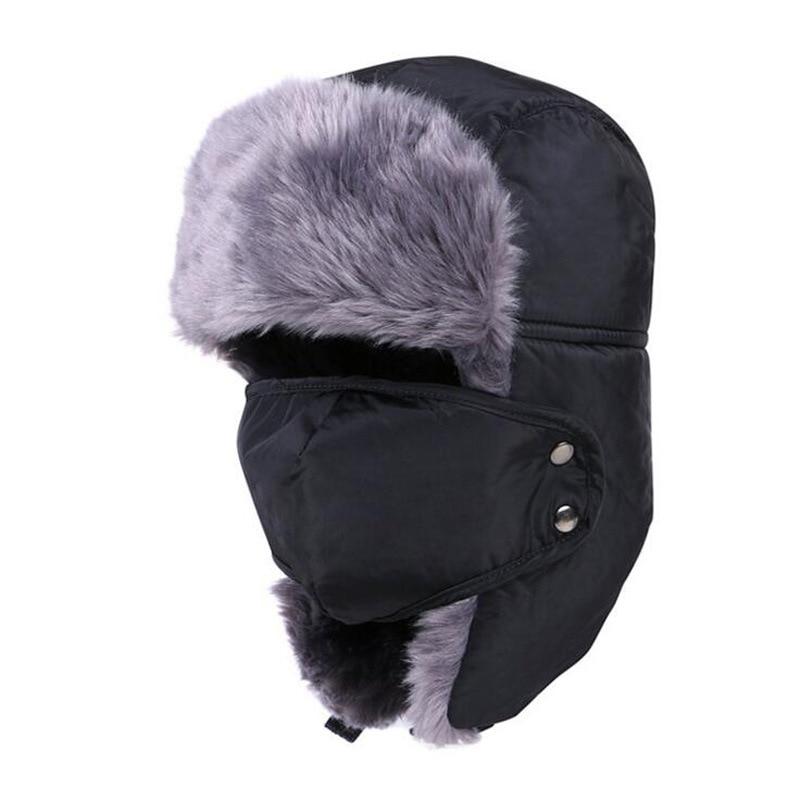 Mulheres Chapéu Térmico Engrossar flap Ear Cap