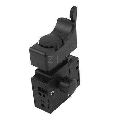 AC 250V 6A 5E4 Lock on Power Tool Electric Drill Speed Control Trigger Switch cenmax vigilant v 6 a
