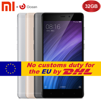 Original Xiaomi Redmi 4 3GB 32GB Redmi 4 Pro Prime Mobile Phone Snapdragon 625 Octa Core CPU 5.0