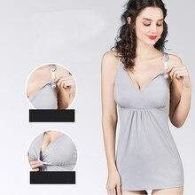 Женское нижнее белье, бюстгальтер для грудного вскармливания с тонкими лямками, Новые Топы для беременных, модная одежда для беременных женщин