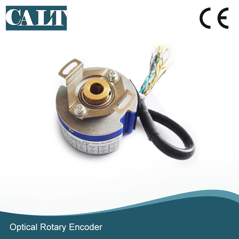 CALT Servo motor encoder 8mm semi hollow shaft UVW encoder GSM48-8G2500BML5-4P mini jeweler 60x led uv light pocket microscope jewelry magnifier loupe glass