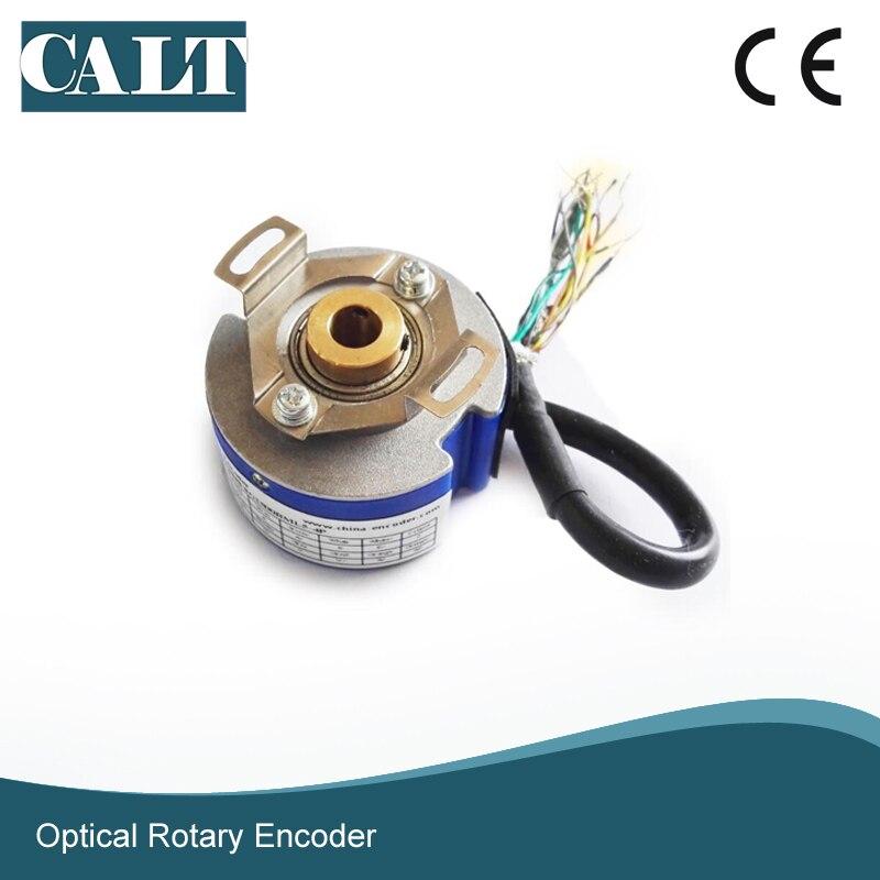 Encodeur de moteur Servo CALT 8mm arbre semi creux encodeur UVW GSM48-8G2500BML5-4P
