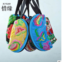 XIYUAN BRAND High Quality Chinese Ethnic Style Clutch Wallet New Women Bag Handbag Purse National Retro
