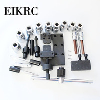 22 piece injector cleaning tool G001 Easy to disassemble Injector repair kit Imported in China