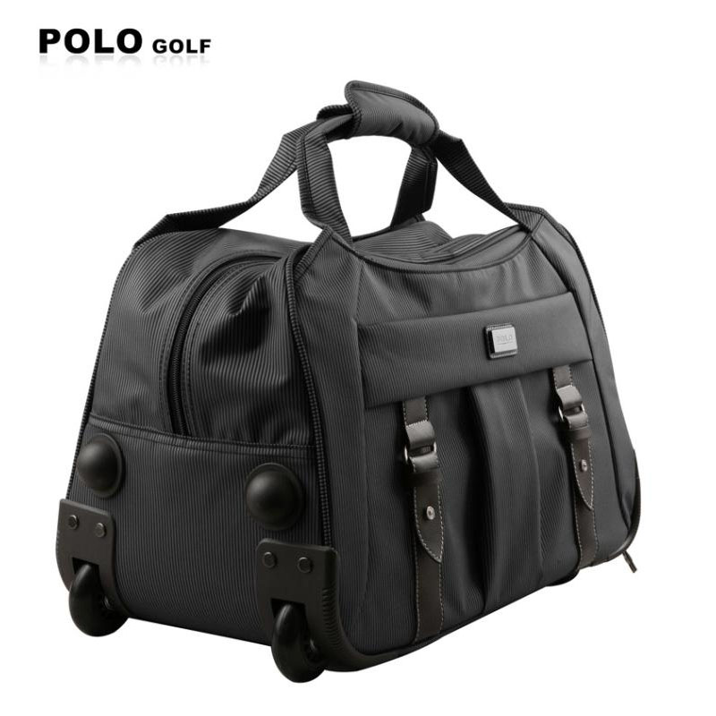 Polo Brand Trolley Case Men Clothing Travel Duffle Rolling