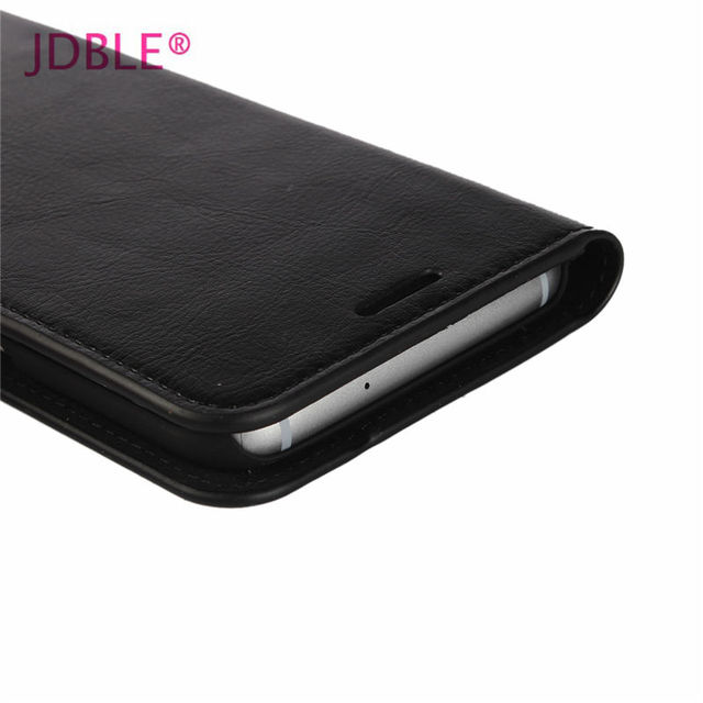 JDBLE Real Genuine Leather Flip Cover For Samsung Galaxy S5 S6 S6 edge S7 Edge