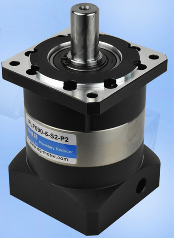 PLF90-10-S2-P2 90mm planetary gear reducer Ratio 10:1 for 80mm 750w AC servo motor shaft 19mm diameter plf120 10 s2 p2 130mm planetary gear reducer ratio 10 1 for 100mm ac servo motor shaft 19mm