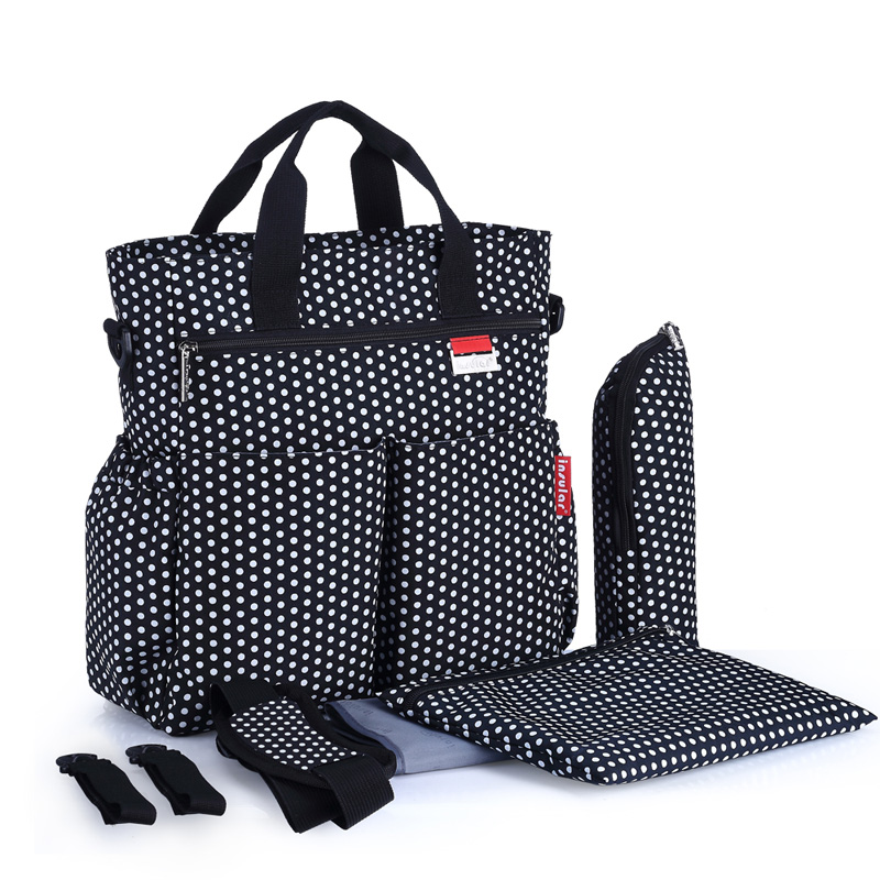 Maternity Baby Diaper Bag Multifunctional Baby Care Nappy Bags Print Waterproof Changing Bag Stroller Bags
