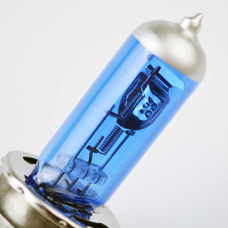 Hippcron галогенная лампа H4 12V 100/90W 5000K ксенона темно-синий Стекло Автомобильные светодиодные лампы фар супер белого цвета из 2 предметов (1 пара)