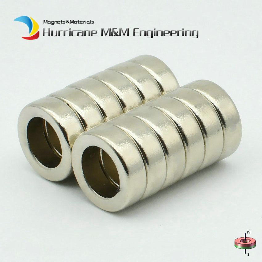 NdFeB N42 Magnet Ring Diameter 16x10x5 mm Tube Axially Magnetized Strong Neodymium Permanent Rare Earth Magnets 12-300pcs 15 300pcs ndfeb n42 magnet ring od 13x3 3x6 mm round strong diametrically neodymium permanent rare earth magnets zinc plated