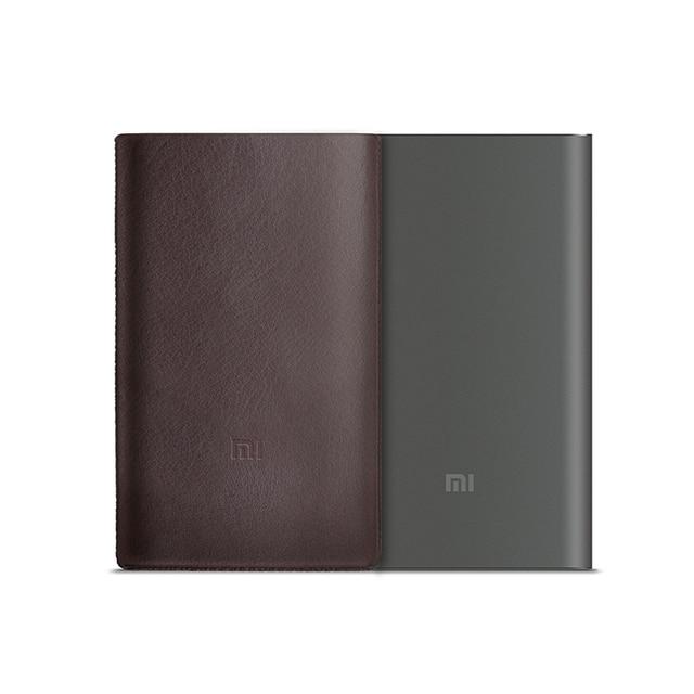 Оригинальный Xiaomi Запасные Аккумуляторы для телефонов 10000 мАч Pro Fast Charge 10000 мАч Мощность Bank быстрое Зарядное устройство qc2.0 Тип-C с оригинальной кожаный чехол