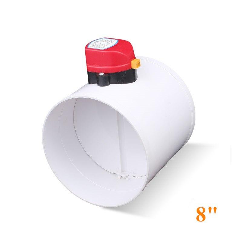 Ventil Hvac 3 kunststoff Luft Ventil Volumen Fluss Rate Dämpfer Manuelle Luftkanal überprüfen Ventil Für Belüftung Rohr 75mm