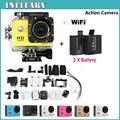 Ir Pro Herói 3 estilo Mini Câmera Ação SJ4000 WI-FI Completo HD 1080 P 30 M À Prova D' Água 'Wide Angle DV câmera Digital subaquática