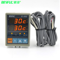Free shipping BESFUL original BF 440A Solar Thermostat Water Temperature Hot Water Temperature Controller Authentic Guarantee