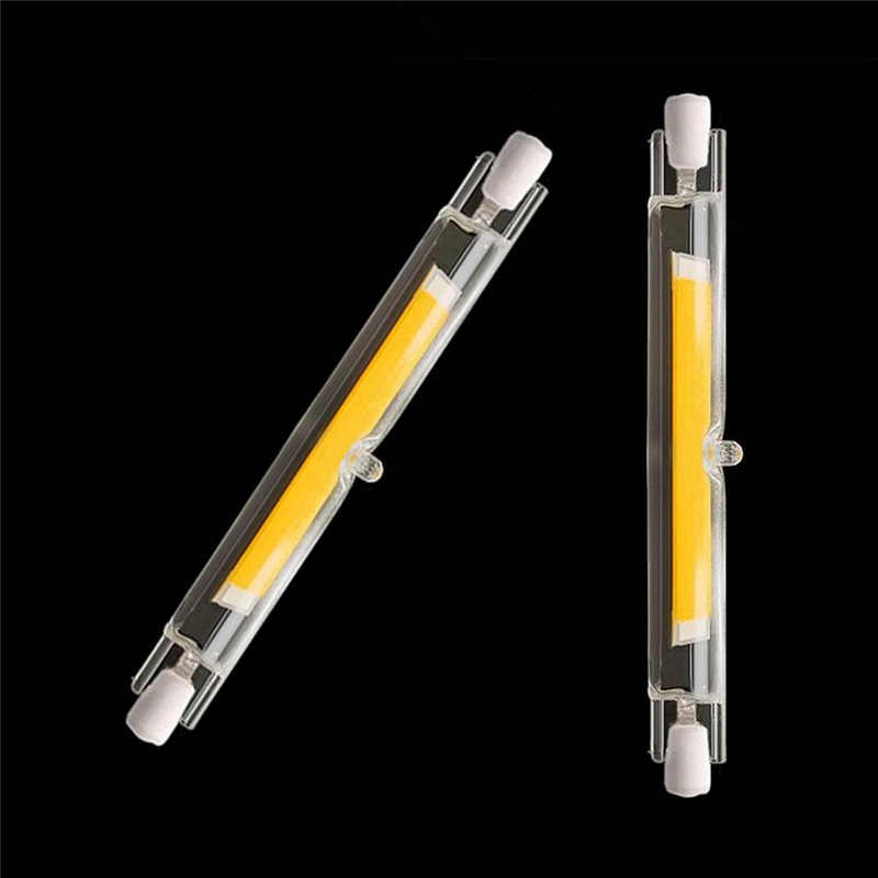 Dimmable R7S LED Lamp COB Glass Tube 110V 220V 240V 78MM 15W 118MM 30W 40W 50W Replace Halogen Bulb J78 J118 Lamparda Spot Light