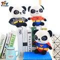 2016 горячей мило мини панда куклы супергерой панда творческий плюшевые игрушки детские дети мальчика подарок на день рождения бесплатная доставка