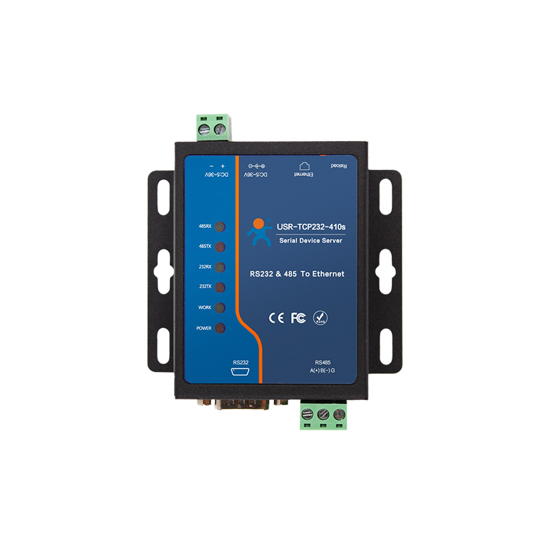USR-TCP232-410s ModBus RTU Converters support DNS DHCP RS232 RS485 SERIAL TO ETHERNET TCP/IP MODULE usr tcp232 e 2 serial port rs232 rs485 to ethernet module uart ttl to lan network converter support modbus rtu to modbus tcpq005