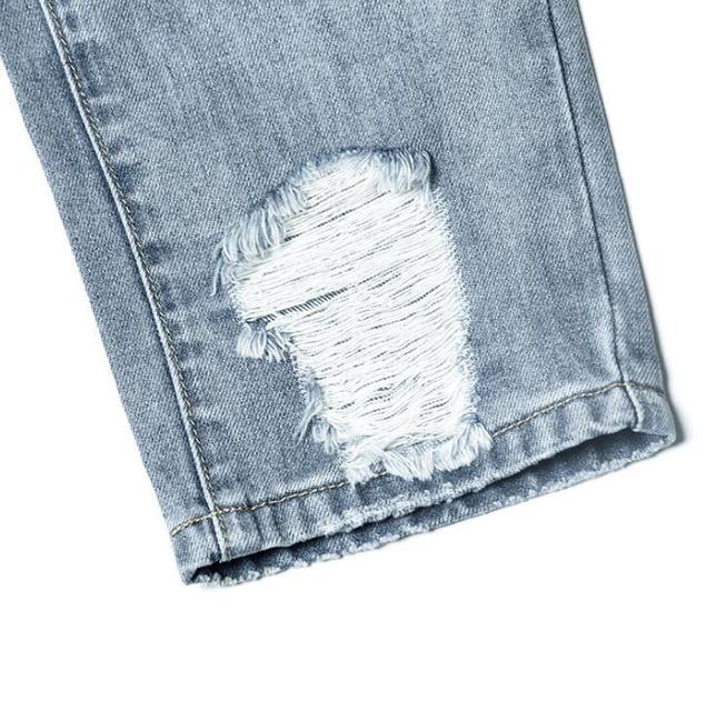 Maman jean taille haute Vintage déchiré copain Denim pantalon pour les femmes en détresse pantalon adolescent filles Juniors grande taille été