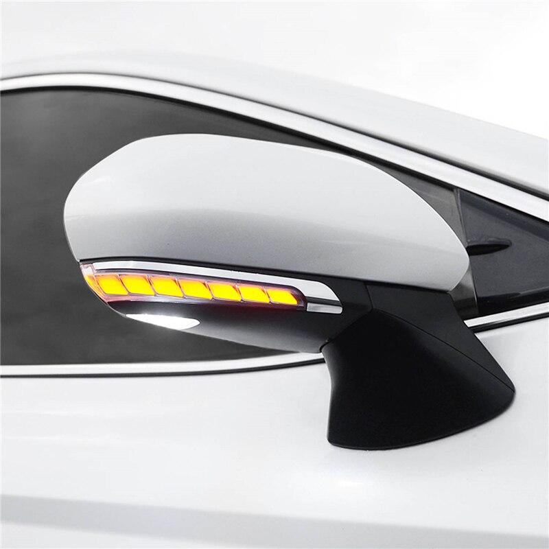 LED suivant indicateur de clignotant séquentiel dynamique direction aile latérale rétroviseur clignotant pour toyota camry