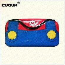 Mari O aizsargājošā spēļu spēlētāja lieta Nintend slēdzim Ceļojuma somas uzglabāšanas slēdzis slēdzim NS konsoles rokassomu